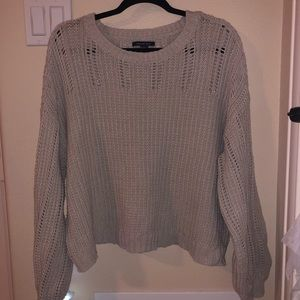 AMERICAN EAGLE CROP TOP KNITTED SWEATER